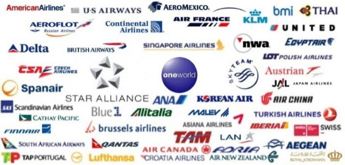 Logos Lineas Aereas y Alianzas