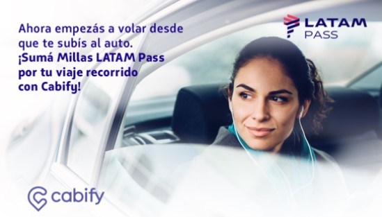 Cabify Latam Pass