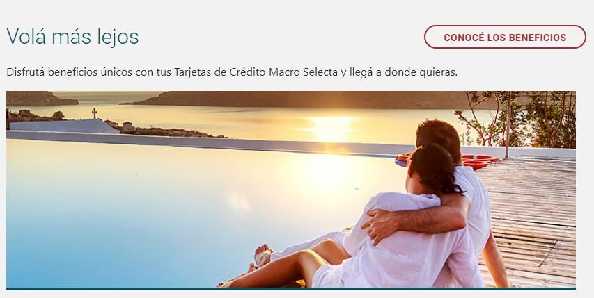 Banco Macro Tarjetas de Credito Aerolineas Argentinas