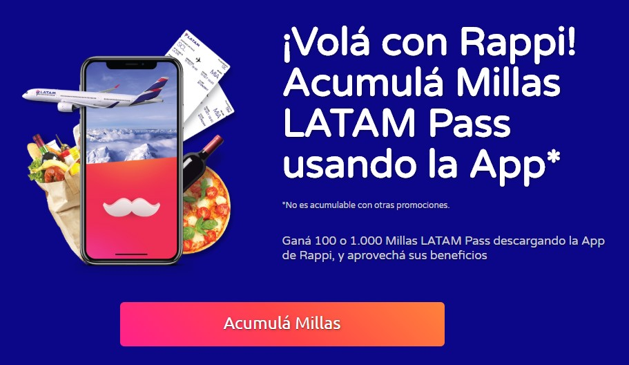 Rappi Latam Pass 1