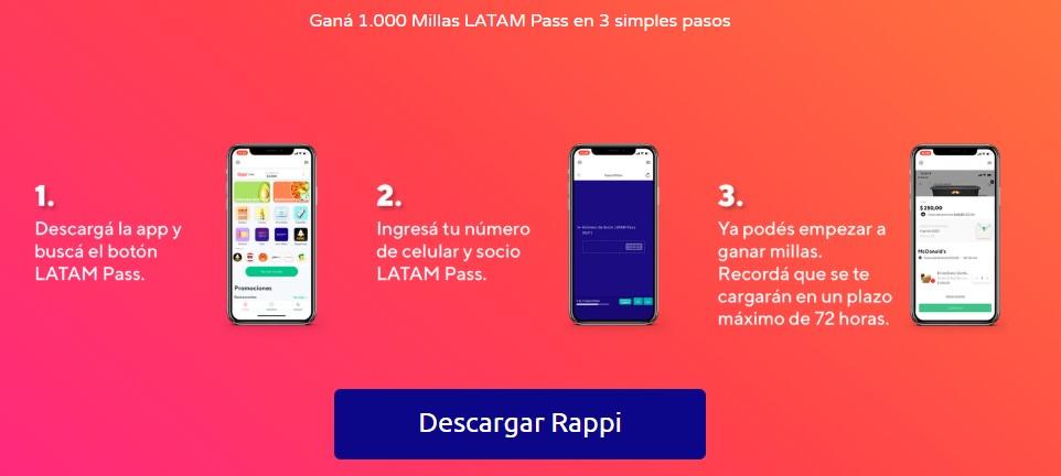 Rappi Latam Pass 2