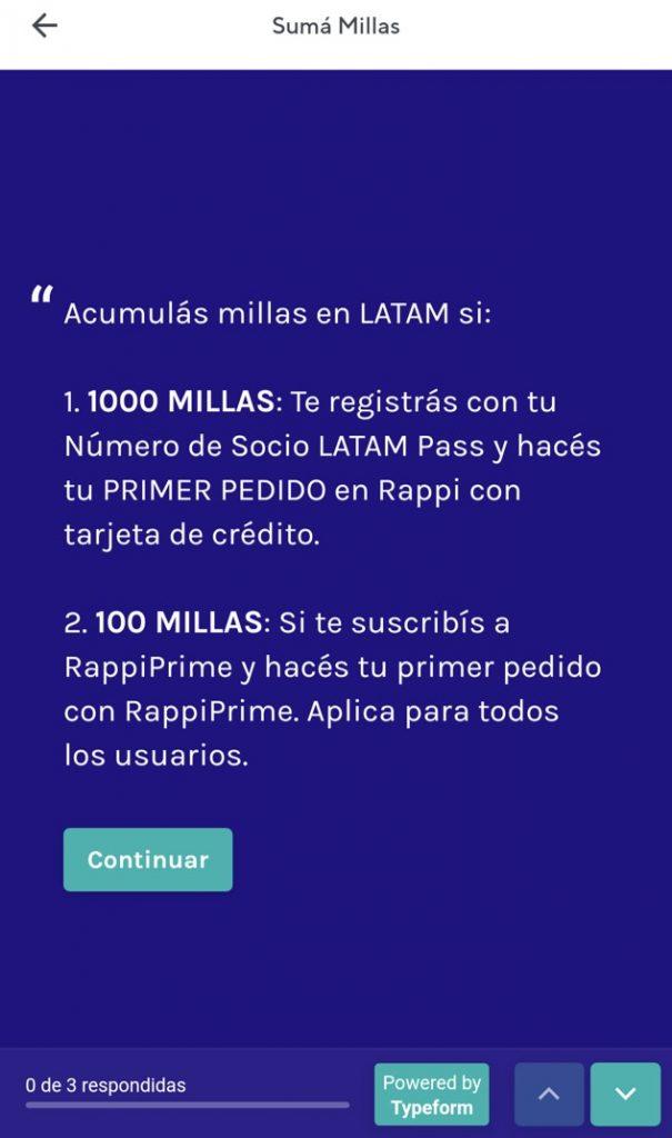 Rappi Latam Pass 7