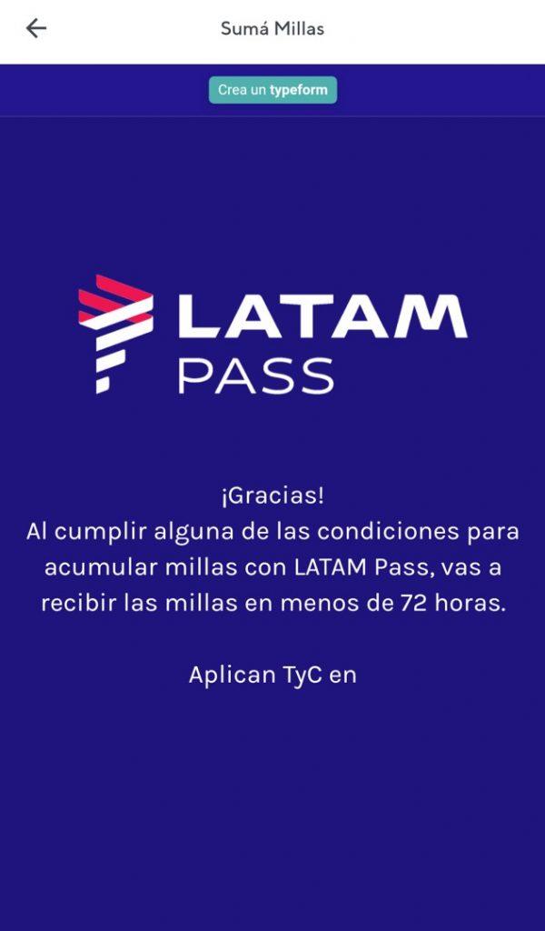 Rappi Latam Pass 10
