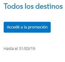 Aerolineas Argentinas Promo Millas Mas Pesos Marzo 2019 - Promo 3