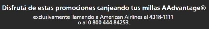 American Airlines Santander Rio Millas Estados Unidos Canada 3