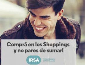 Shoppings IRSA Aerolineas Argentinas Millas 1