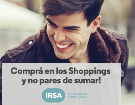 Shoppings IRSA Aerolineas Argentinas Millas 1