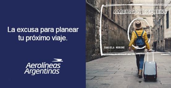 American Express Membership Rewards Aerolineas Argentinas Plus Millas Viajar Gratis 2