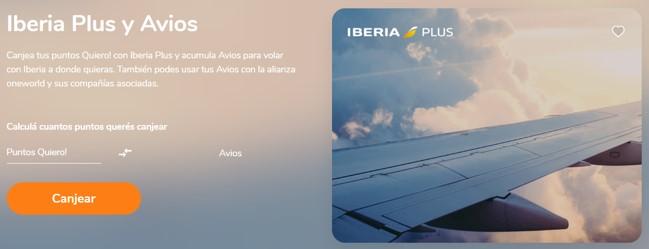Iberia Banco Galicia Avios Quiero Argentina 3