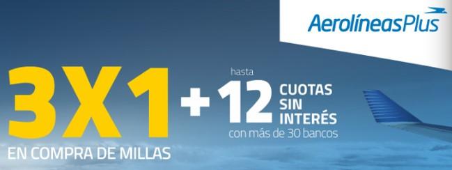 Aerolineas Argentinas Promocion 3x1 Compra Millas Julio 2019 A