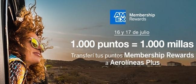 American Express Membership Rewards Aerolineas Argentinas Plus Millas Viajar Gratis b