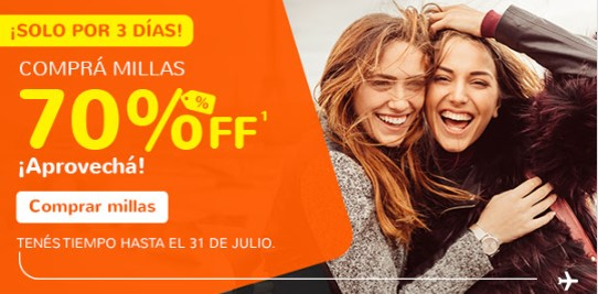 Smiles Gol Compra Millas 70 off Julio 1