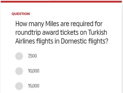 Turkish Airlnes Millas Smiles Miles Gratis Concurso Sorteo 2019 c
