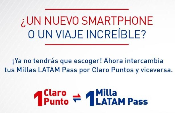 Latam Pass Peru Claro Millas Puntos Gratis 4
