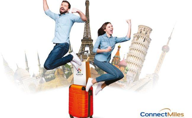 ConnectMiles Copa Airlines Sorteo Gratis Attenza 1