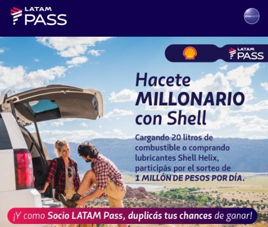 Shell Latam Pass Millonario Gratis Millas Viajes Argentina 3