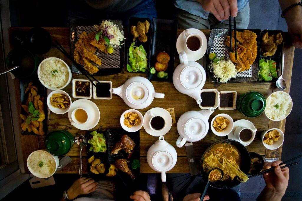 Comer almuerzo desayuno cena en el Viaje Millas 4