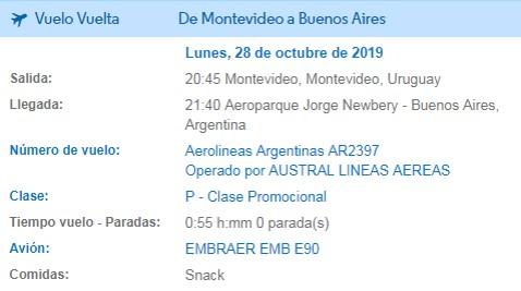 Aprende a canjear millas por pasajes gratis en Aerolineas Argentinas 11