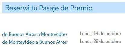 Aprende a canjear millas por pasajes gratis en Aerolineas Argentinas 4
